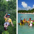 Snorkeling and Zip-Lining