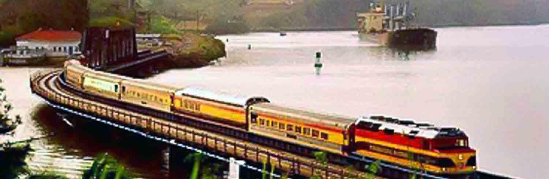 Panama Canal Railway trip